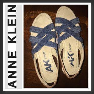 Anne Klein Sport Sandals size 6M